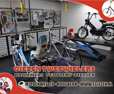 Giezen tweewielers Hoogkerk