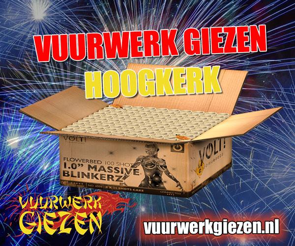 Vuurwerk Giezen Hoogkerk